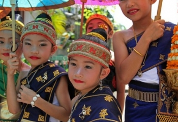 Lao New Year in Luang Prabang